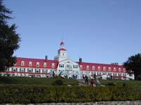 canada - québec - Tadoussac : le fameux hôtel