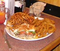 canada - québec - La portion moyenne. Les assiettes sont toujours copieusement fournies. Il est difficile d