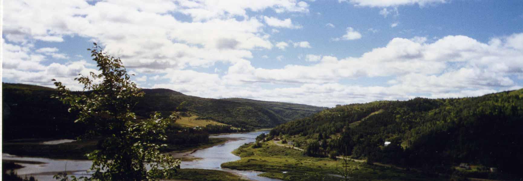 Québec - paysage de printemps