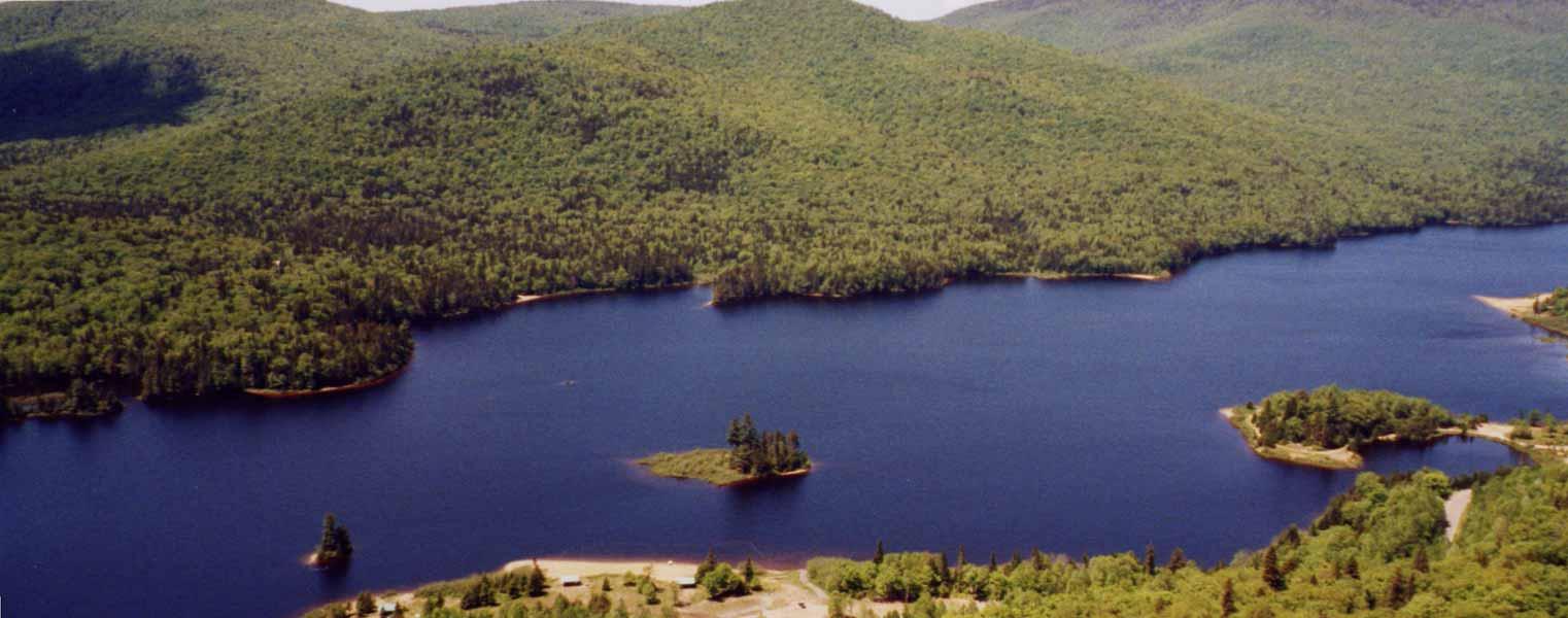 Voyage au Canada - Lac du Mont Tremblant