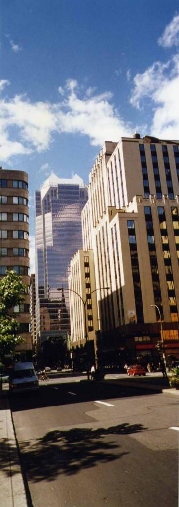 Montréal une ville typiquement nord américaine