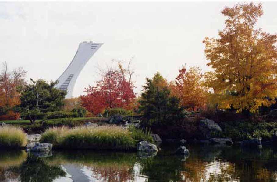 Montréal - Jardin botanique et parc olympique