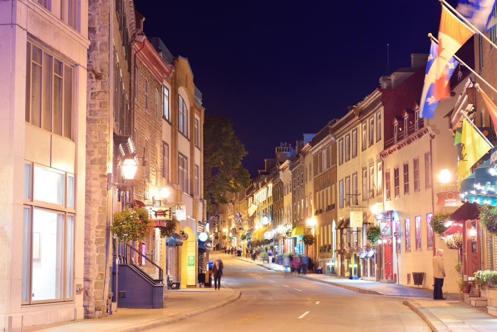 La basse ville de Québec